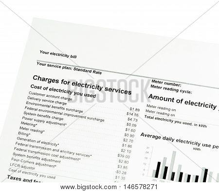 Residential Electricity Bill