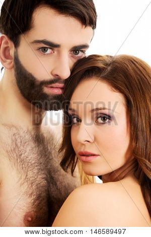Young beautiful couple.