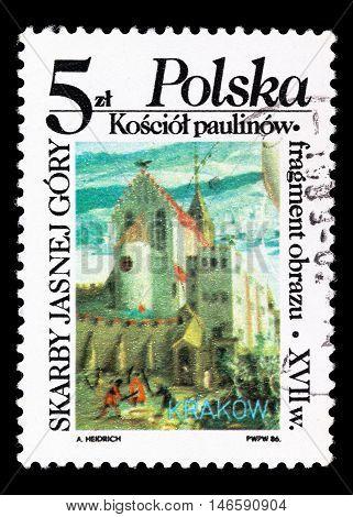 Poland - Circa 1986