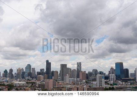 Cityscape And Transportation In Daytime