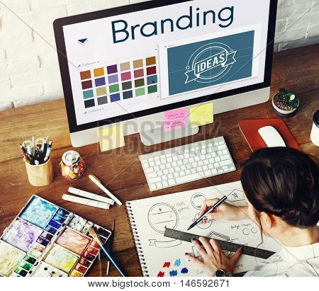 Branding Ideas Design Identity Marketing Concept