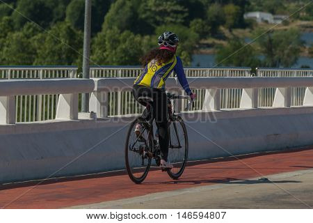 Cycling Competition In Thailand