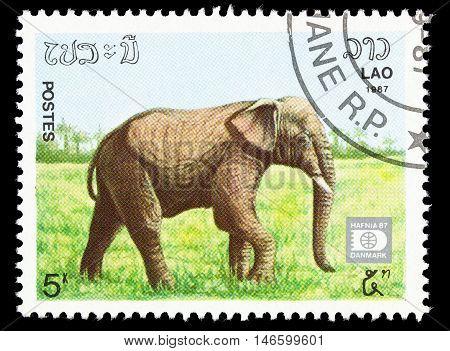 Laos - Circa 1987