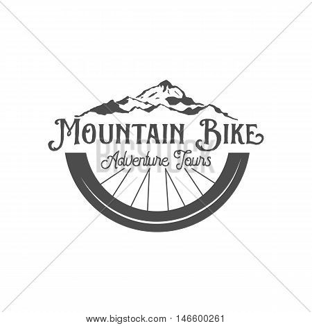 Vintage and modern bicycle  logo, badge, label and design elements