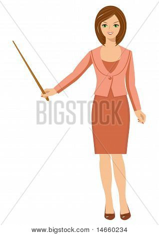 Woman With A Pointer