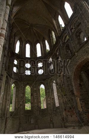 The Abbey of Villers La Ville in Belgium