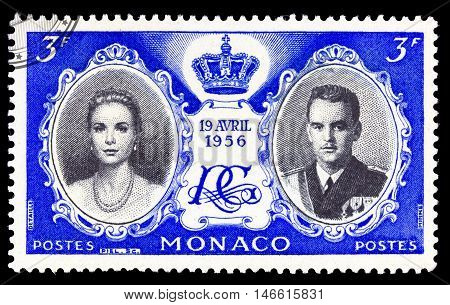 Monaco - Circa  1956