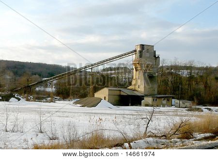 Concrete Plant Conveyer Structure