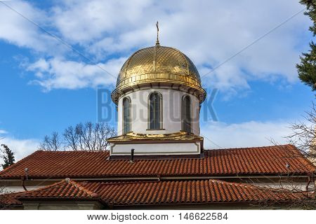 Dome of The Fish Church, St. Mary the Annunciation, Asenovgrad,  Plovdiv Region, Bulgaria