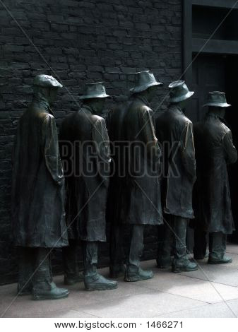Bread Line, Washington Dc, Fdr Memorial