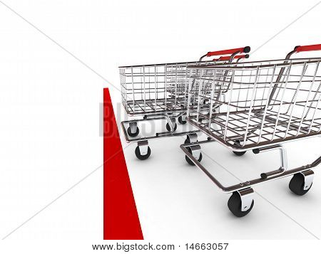 Shopping Cart Race