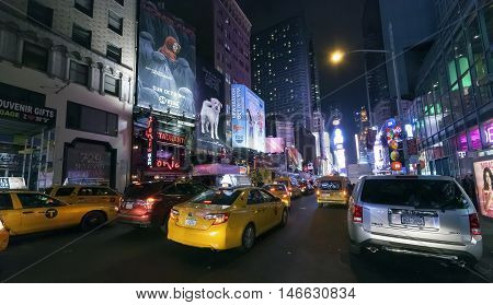New York City, Usa - Times Square