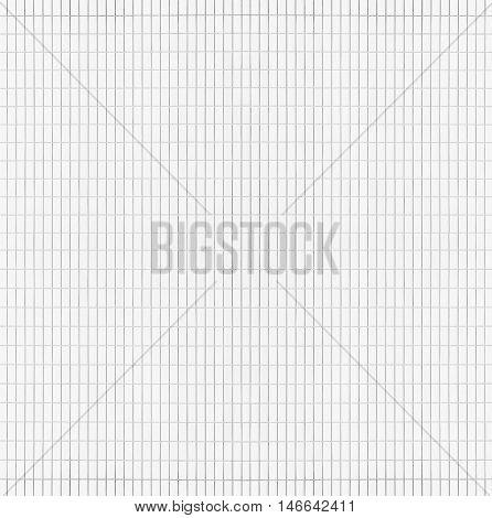 New modern white brick wall seamless background and pattern