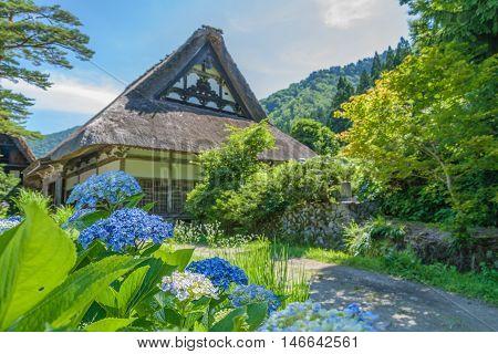 Shirakawa Or Shirakawa-go, A Small Traditional Historic Villages In Summer Season, Gifu, Japan