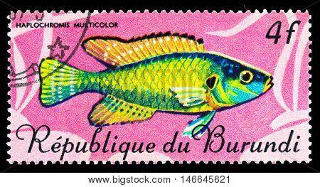 Republic Burundi - Circa 1977