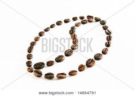 Coffee Beans Draw A Coffee Bean Symbol