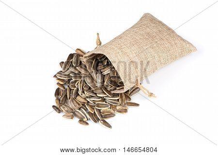 Sunflower Seeds In Sack