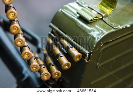 Bullets On A Belt