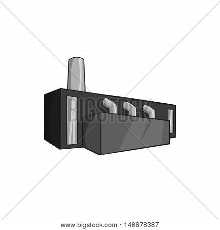 Receiving of malt icon in black monochrome style isolated on white background. Production of alcohol symbol vector illustration