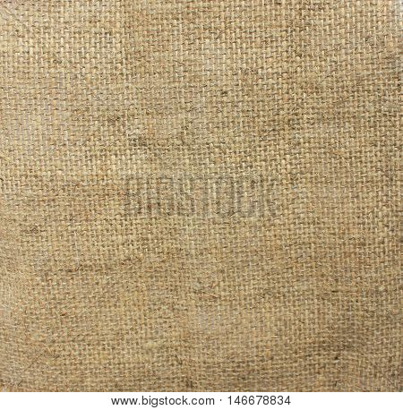 Hessian cloth background sack sacking country light brown fabric texture natural pattern