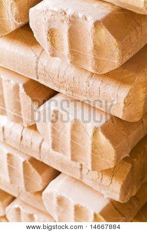 Briquetas de madera