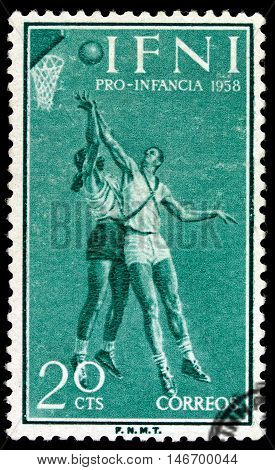 Spain - Circa 1958