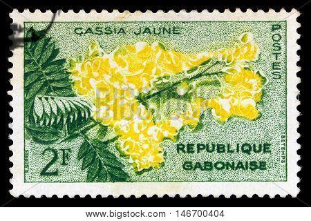 Gabon - Circa 1961