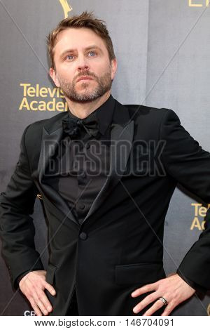 LOS ANGELES - SEP 10:  Chris Hardwick at the 2016 Creative Arts Emmy Awards - Day 1 - Arrivals at the Microsoft Theater on September 10, 2016 in Los Angeles, CA