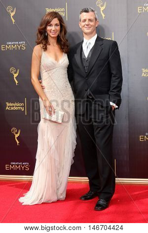 LOS ANGELES - SEP 10:  Jama Williamson, Curtis Mark Williams at the 2016 Creative Arts Emmy Awards - Day 1 - Arrivals at the Microsoft Theater on September 10, 2016 in Los Angeles, CA