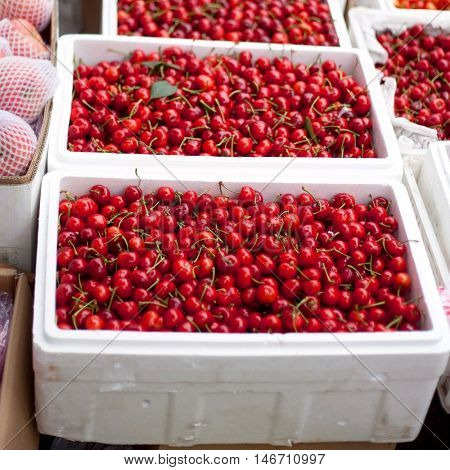 Market Cherries