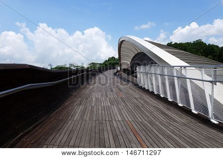 Singapore Henderson Wave Bridge