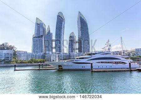 Caribbean at keppel bay. It's luxury residential in Singapore