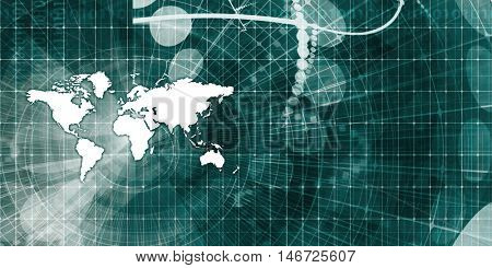 Logistics Network and Global Supply Chain Background