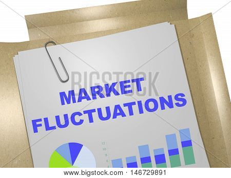 Market Fluctuations Concept