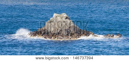 Small Island At The Westcoast Of Iceland