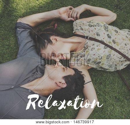 Relaxation Calm Chill Freedom Happiness Life Concept