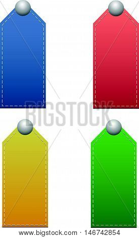Signs seams.For you massage blue red yellow green