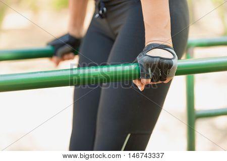 Parallel Bar Workout