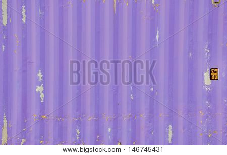 Purple container texture with background for decorate