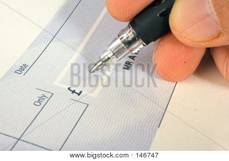 Cheque Signature