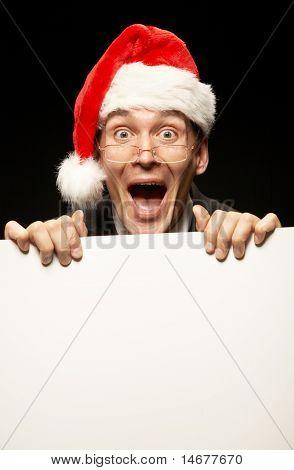 Businessman Santa