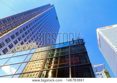 Office Building In Canary Wharf