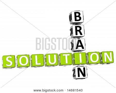 Brain Solution Crossword