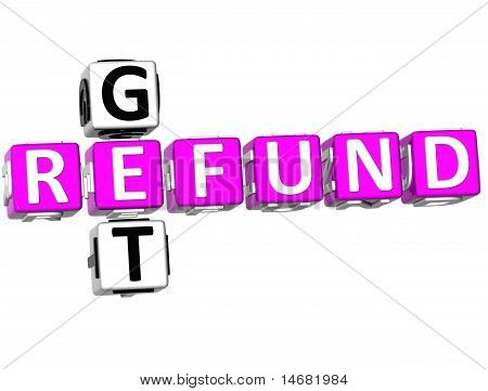 Get Refund Crossword