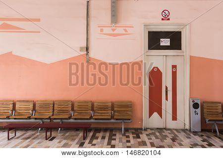 Train Station In Rijeka, Croatia