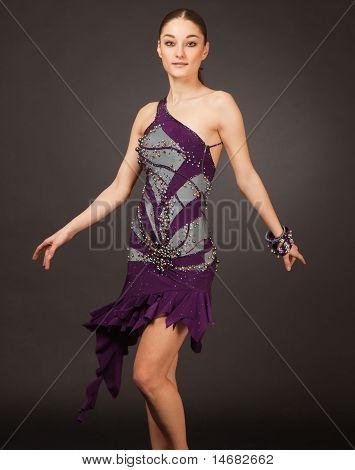 Dancing Latino Girl