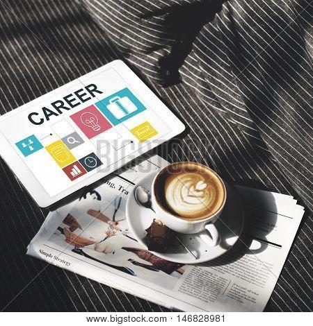Job Opportunites Motivation Employment Competence Concept