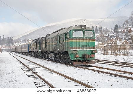 Diesel Passenger Train