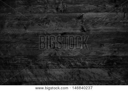 Abstract dark wooden wall for your background