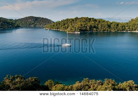 National park Mljet, Croatia